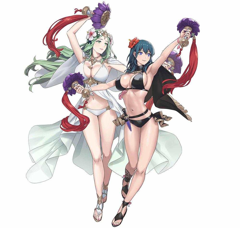 《火焰纹章英雄》新增《风花雪月》泳装角色 7.8登场