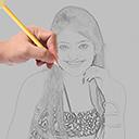 手机素描应用-草图绘制大师 v1.0